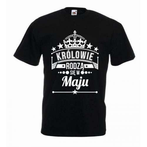 T-shirt oversize KRÓLOWIE MAJ 2