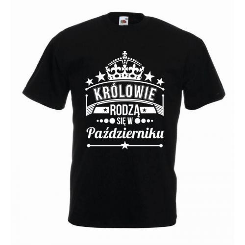 T-shirt oversize KRÓLOWIE PAŹDZIERNIK 2