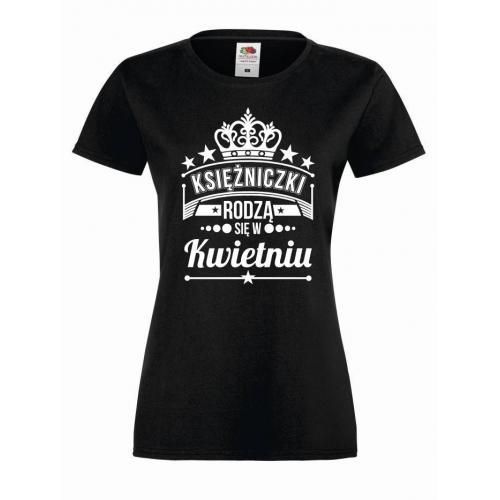 T-shirt lady KSIĘŻNICZKI KWIECIEŃ