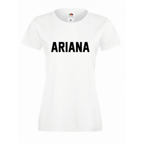T-shirt lady ARIANA 93