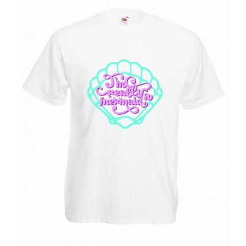 T-shirt oversize DTG MERMAID