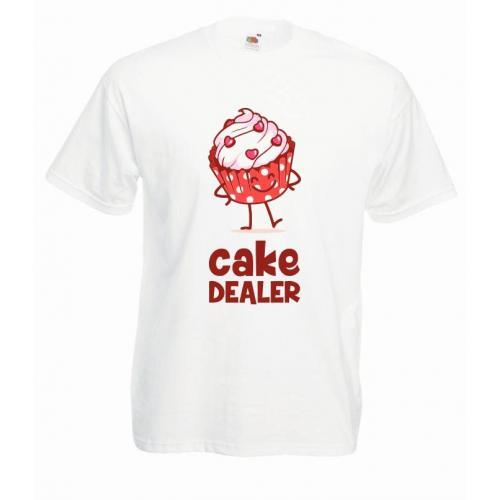 T-shirt oversize DTG CAKE DEALER