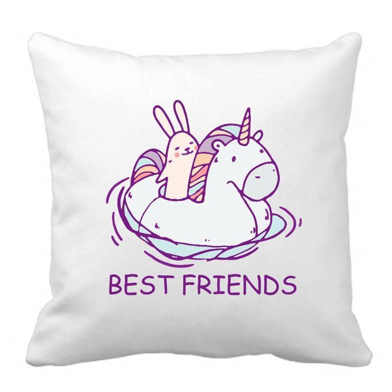 PODUSZKA druk DTG BEST FRIENDS