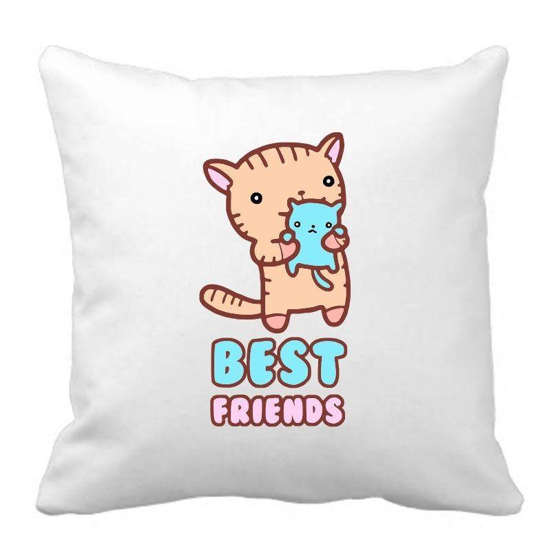 PODUSZKA druk DTG BEST FRIENDS 2