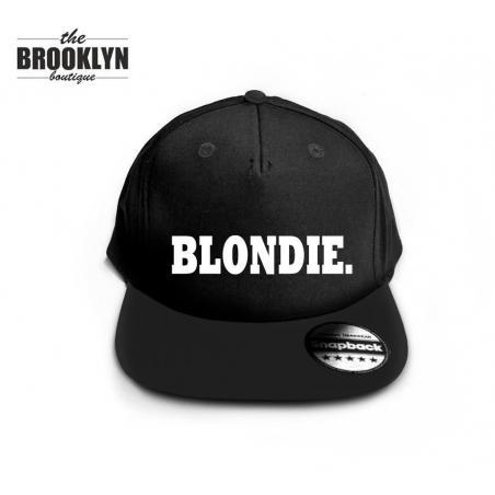 Czapka snapback cap BLONDIE