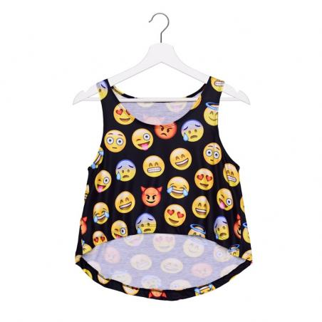TOP summer EMOJI BLACK