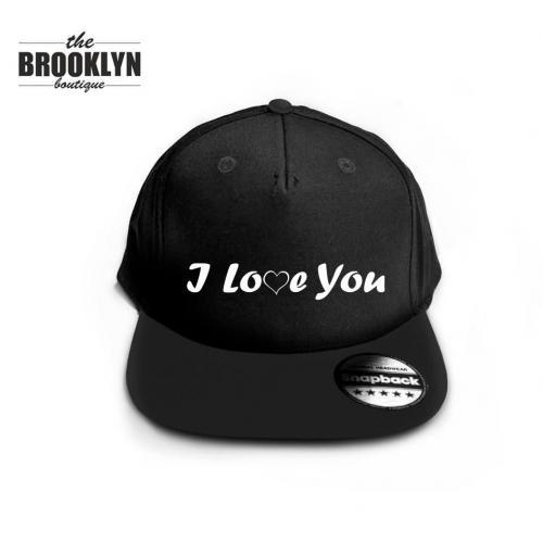 Czapka snapback cap LOVE