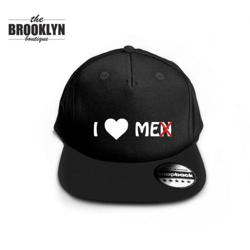 Czapka snapback cap I LOVE ME