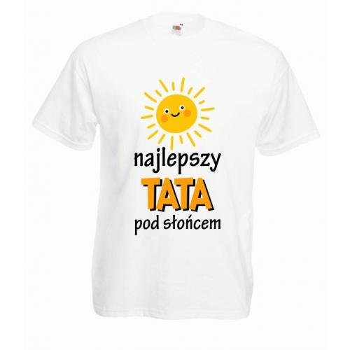 T-shirt oversize DTG NAJFAJNIEJSZY TATA