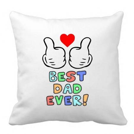 PODUSZKA druk DTG BEST DAD EVER