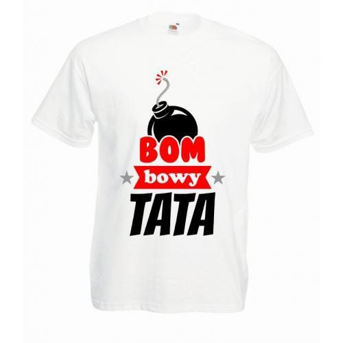 T-shirt oversize DTG BOMBOWY TATA