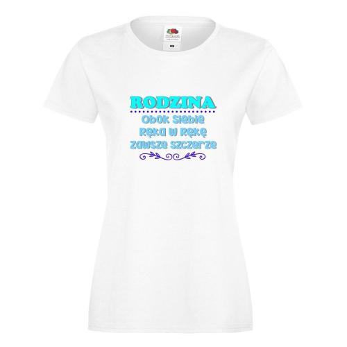 T-shirt lady/oversize DTG RODZINA