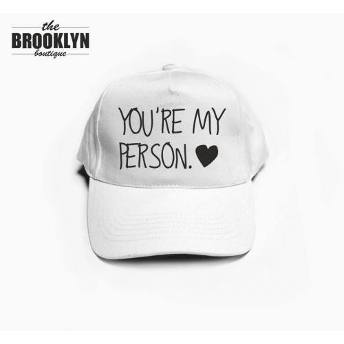 czapka baseball PERSON
