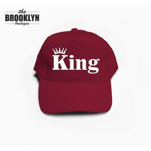 czapka baseball KING KORONA