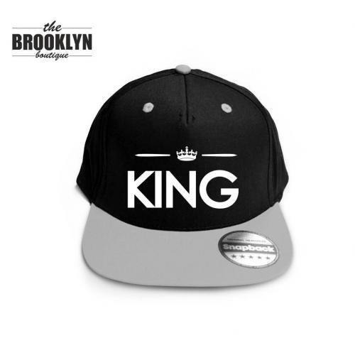 Czapka snapback cap KING