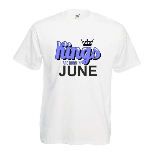 T-shirt oversize DTG KINGS ARE BORN IN JUNE
