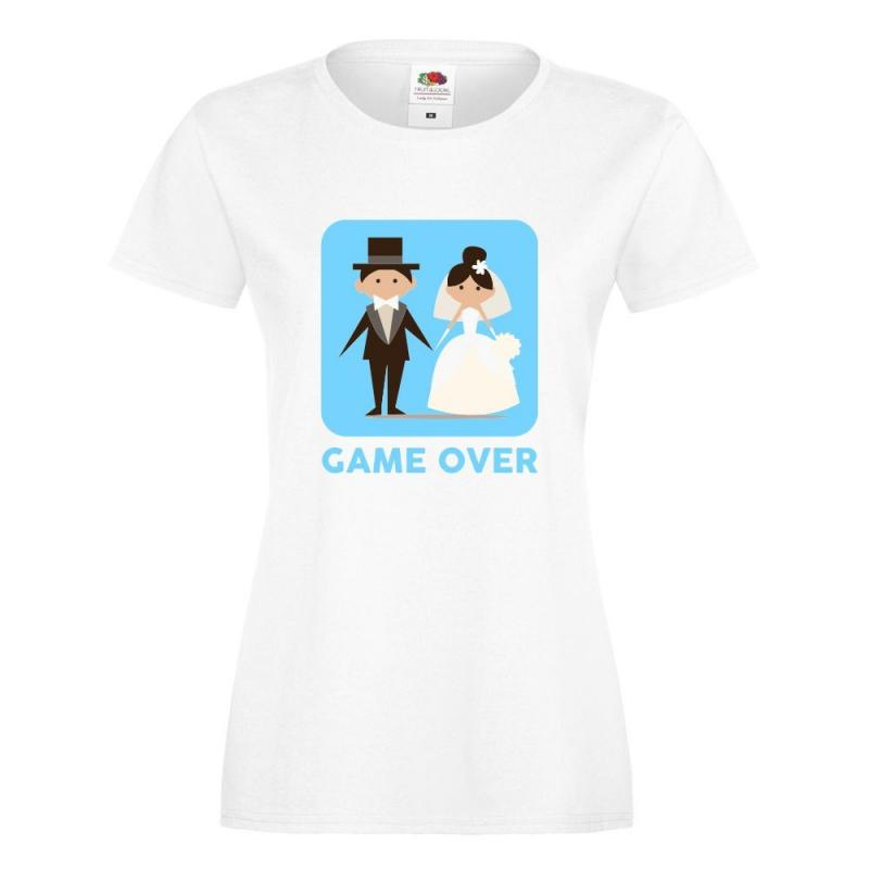 T-shirt lady/oversize DTG GAME OVER