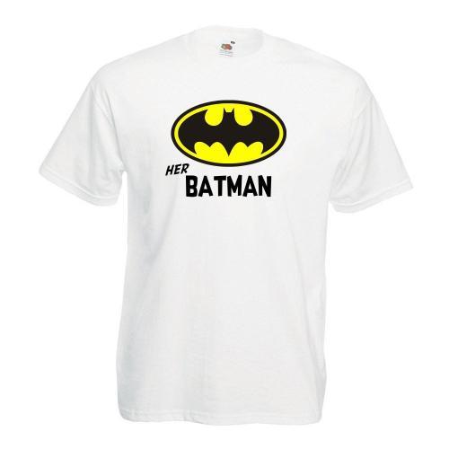 T-shirt oversize DTG HER BATMAN