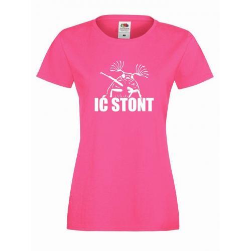 T-shirt lady IĆ STONT