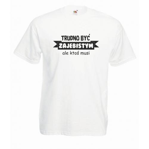 T-shirt oversize TRUDNO BYĆ
