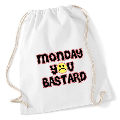 plecak worek DTG MONDAY YOU BASTARD