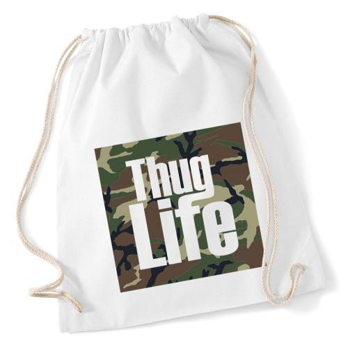 plecak worek DTG THUG LIFE MORO
