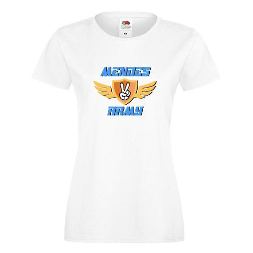 T-shirt lady/oversize DTG MENDES ARMY