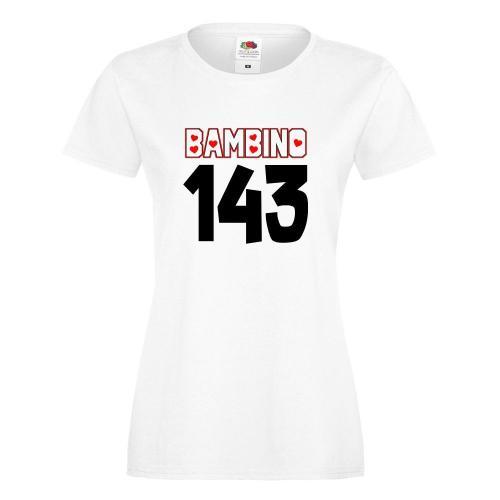 T-shirt lady/oversize DTG BAMBINO 143