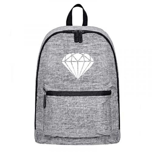 Plecak szary-melanż DIAMOND 2