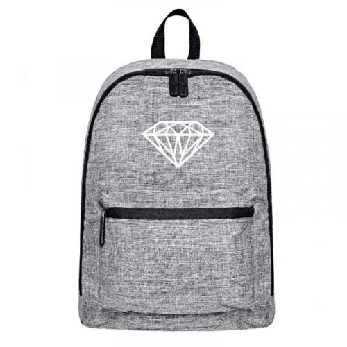 Plecak szary-melanż DIAMOND