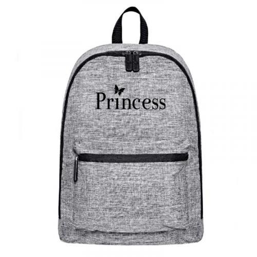 Plecak szary-melanż PRINCESS