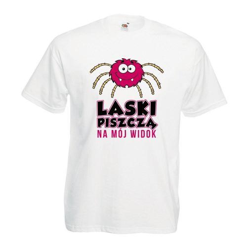 T-shirt oversize DTG LASKI PISZCZĄ