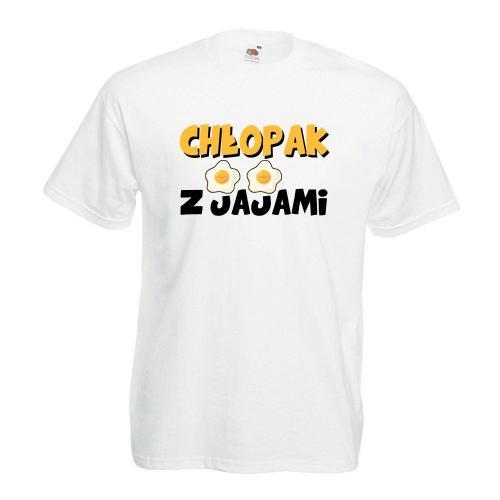T-shirt oversize DTG CHŁOPAK Z JAJAMI