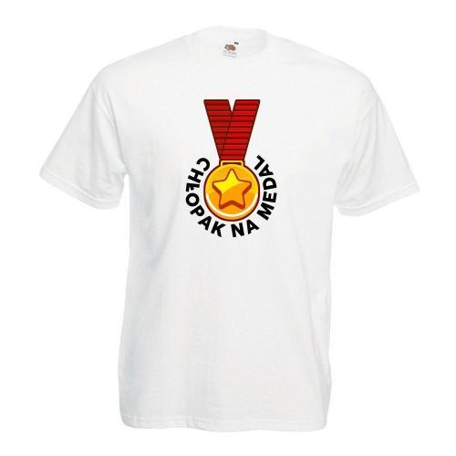 T-shirt oversize DTG CHŁOPAK NA MEDAL