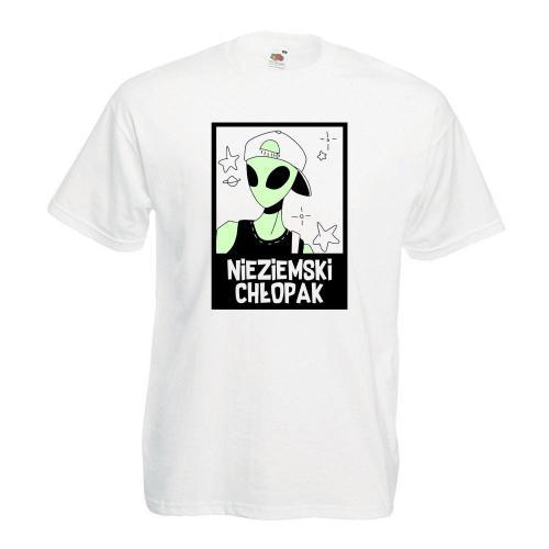 T-shirt oversize DTG NIEZIEMSKI CHŁOPAK