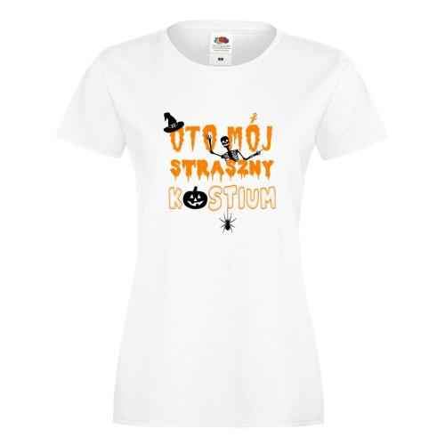T-shirt lady/oversize DTG STRASZNY KOSTIUM