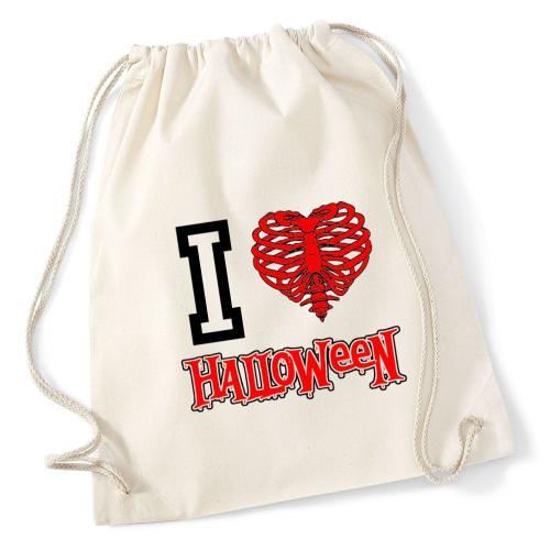 Plecak worek DTG I LOVE HALLOWEEN