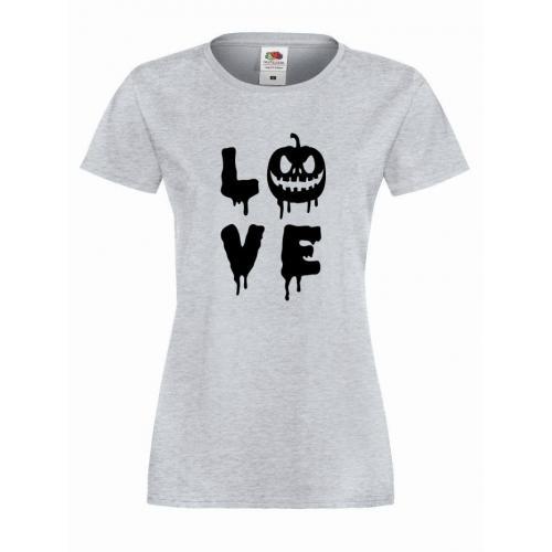 T-shirt lady/oversize LOVE PUMPKIN