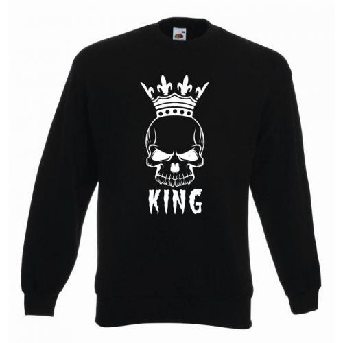 bluza oversize KING HALLOWEEN