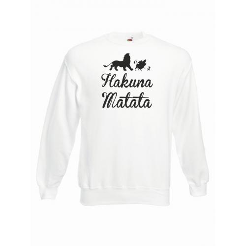 bluza oversize HAKUNA MATATA ANIMALS