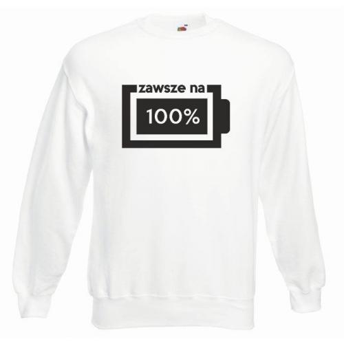 bluza oversize ZAWSZE NA 100%