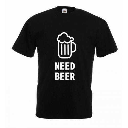 T-shirt oversize NEED BEER