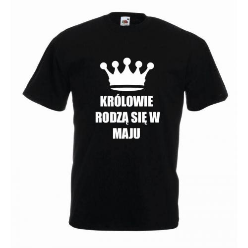 T-shirt oversize KRÓLOWIE MAJ (OUTLET)