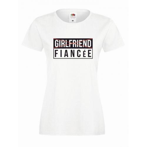 T-shirt lady DTG FIANCE