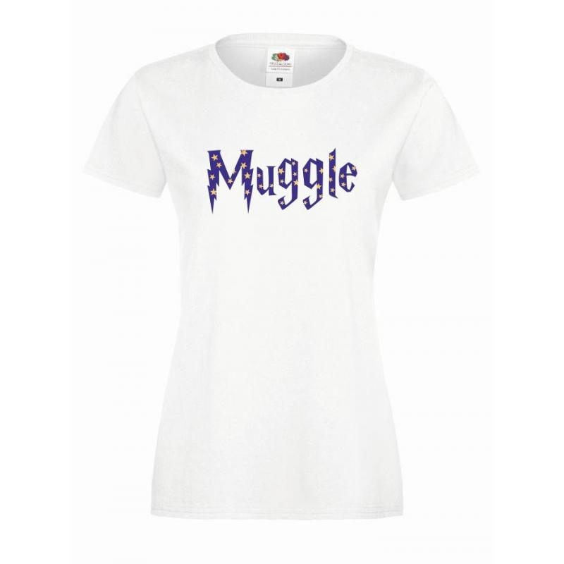 T-shirt lady DTG MUGGLE
