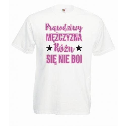 T-shirt oversize DTG PRAWDZIWY MĘŻCZYZNA
