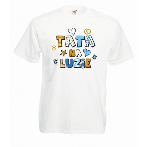 T-shirt oversize DTG TATA NA LUZIE