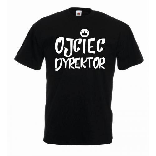 T-shirt oversize OJCIEC DYREKTOR