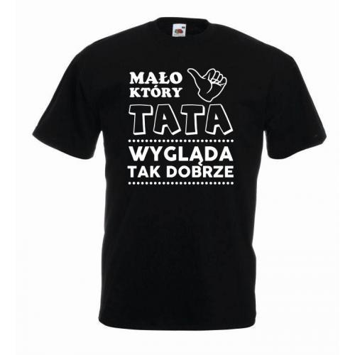 T-shirt oversize TATA WYGLĄDA DOBRZE