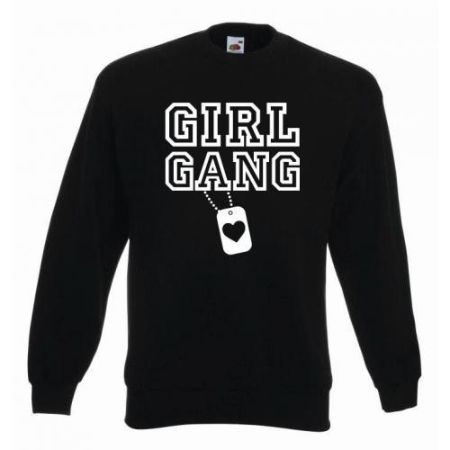 bluza oversize GIRL GANG
